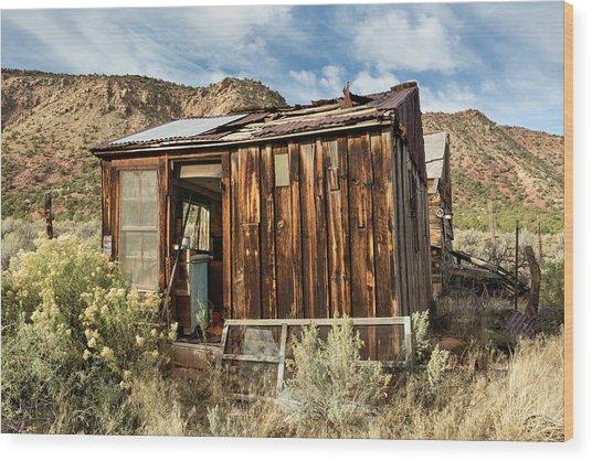Desert Storage Wood Print