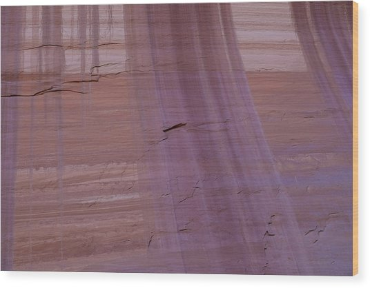 Wood Print featuring the photograph Desert Varnish by Deborah Hughes