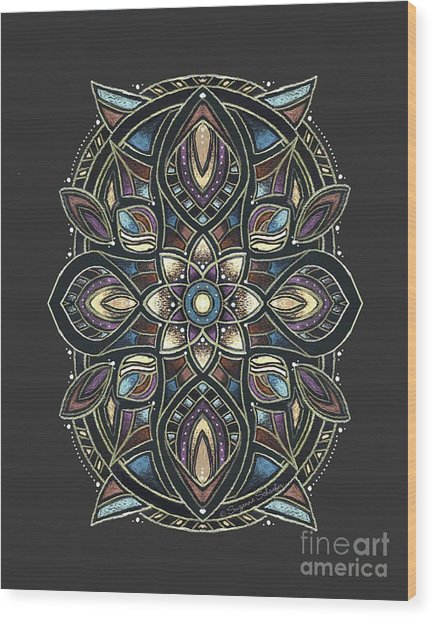 Design 222 A Wood Print