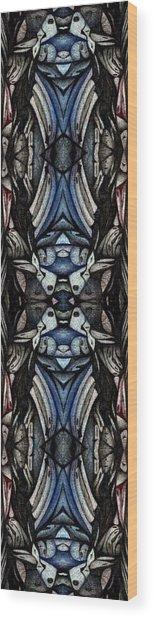 Designer Book Marks One Wood Print