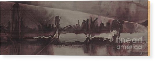 Desolation Wood Print
