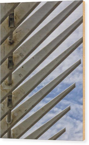 Detail Of Construction Wood Print by Robert Ullmann