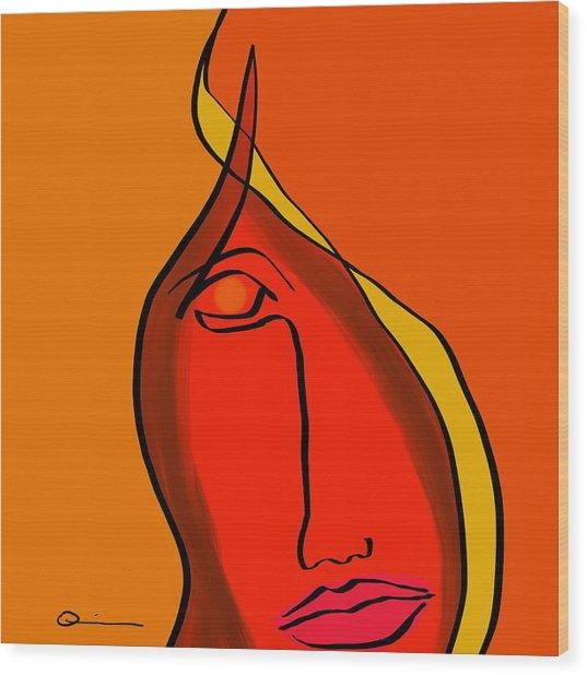 Diabla Wood Print