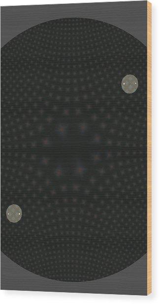 Diamond In The Round Wood Print