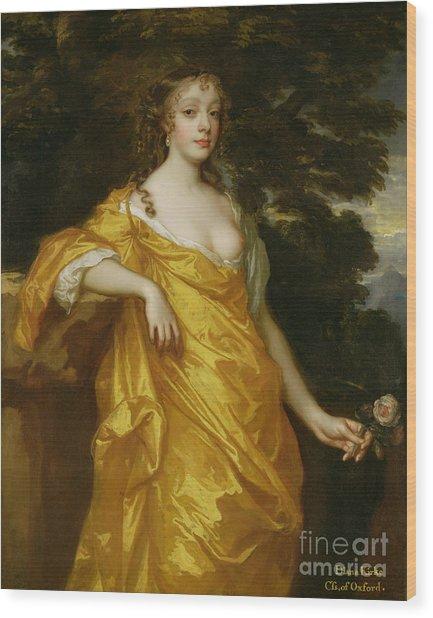 Diana Kirke-later Countess Of Oxford Wood Print