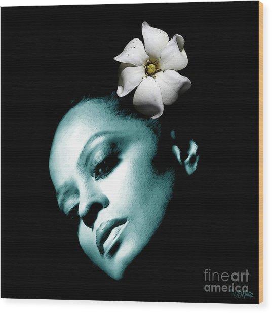 Diana Ross Wood Print