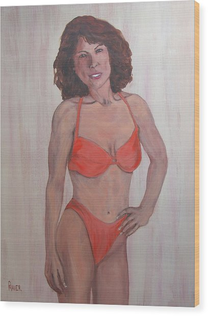 Diane Wood Print by Pete Maier