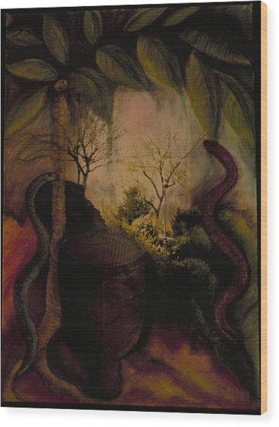 Diaspora Wood Print by Barbara Nesin