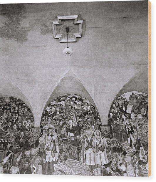 Diego Rivera Wood Print
