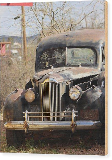 Digger O Balls Funeral Pallor Hearse Wood Print
