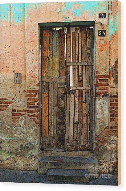 Dilapidated Wood Print