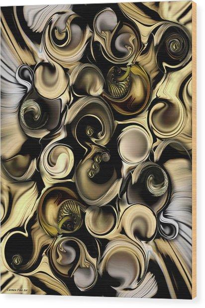 Dimension Vs Shape Wood Print