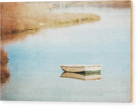 Dinghy In Eastham Wood Print