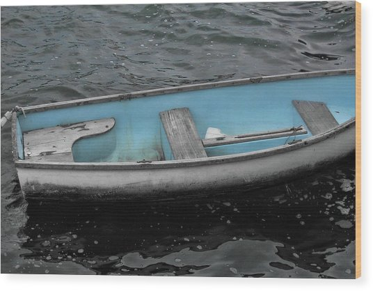 Dinghy Wood Print by JAMART Photography