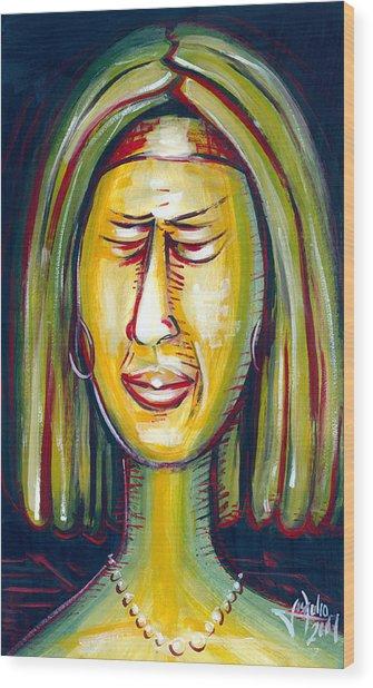 Disgustfull Wood Print by Jose Julio Perez