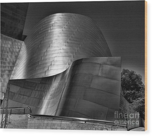 Disney Concert Hall IIi Wood Print