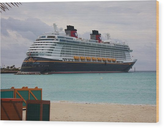 Disney Dream Wood Print