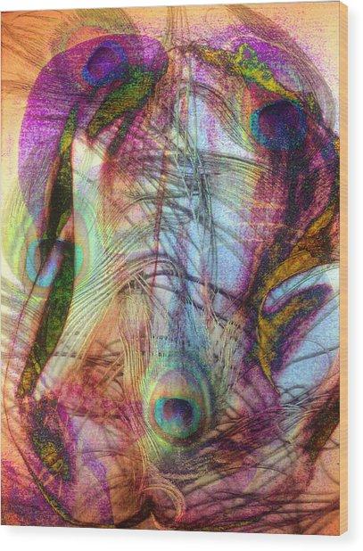 Dissolution 22 Wood Print