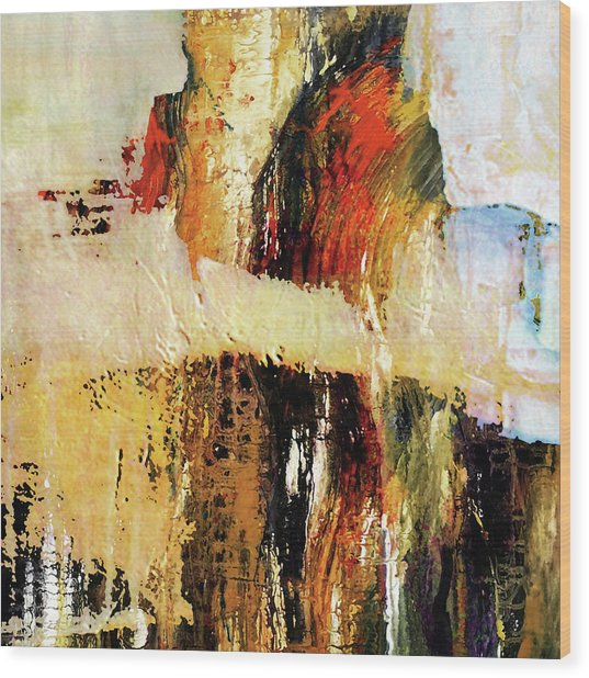 Distant Limit  Wood Print by Sadegh Aref