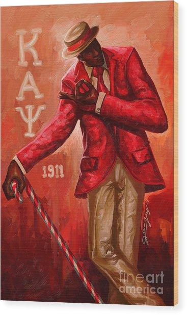 Distinguished Kappa Alpha Psi Wood Print