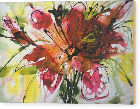 Divine Blooms-21082 Wood Print