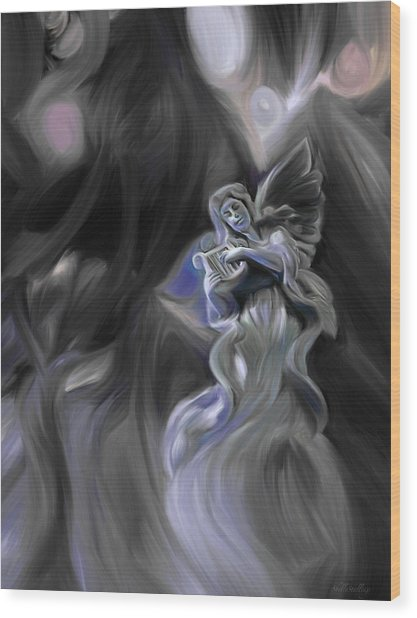 Divine Dreams Wood Print