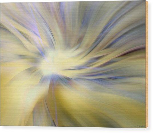 Divine Energy Wood Print