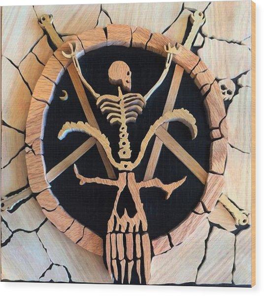 Divine Intervention Wood Print