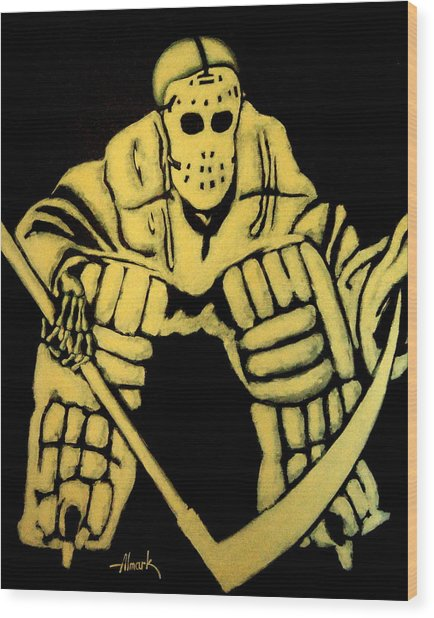 Do Not Play With Me Wood Print by Alexander Almark