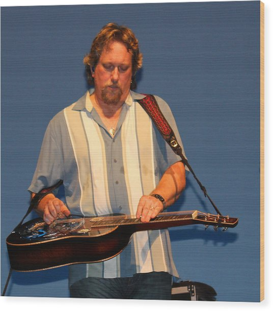Dobro King Wood Print by Wild Expressions Photography