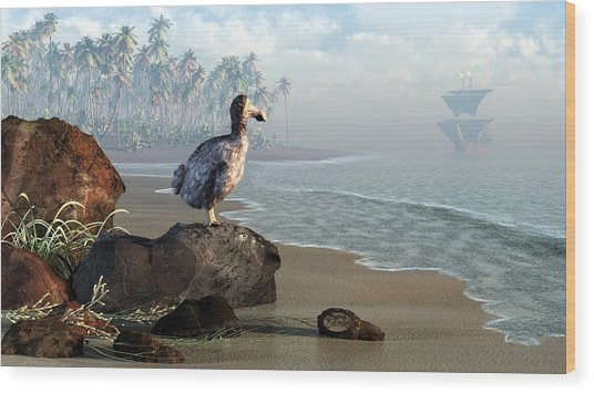 Dodo Afternoon Wood Print