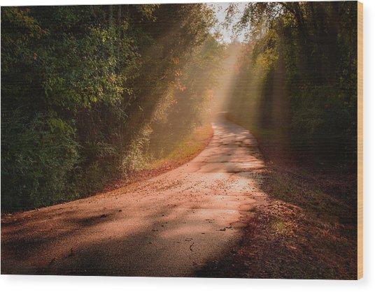 Dogwood Ridge Wood Print