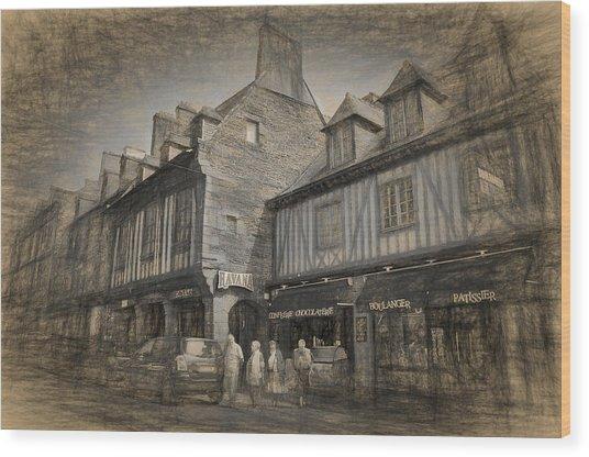 Dol Main Street Wood Print