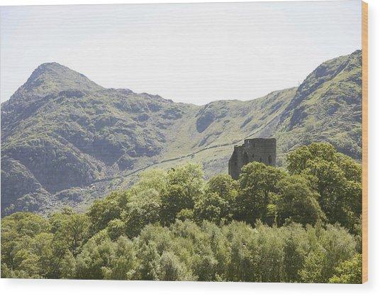 Dolbadarn Castle.  Wood Print