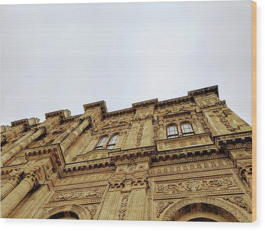 Dolmabahce Palace Wood Print
