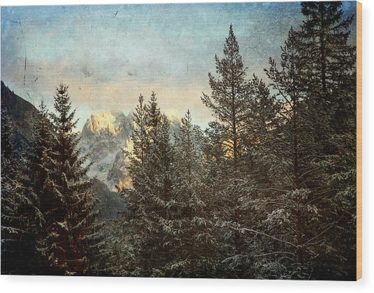 Dolomiti Wood Print
