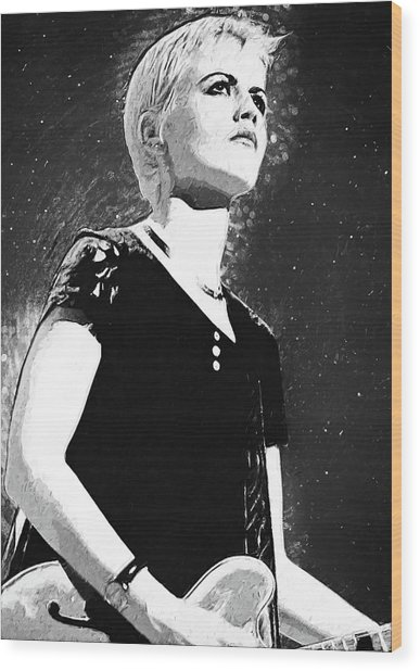 Dolores O Riordan Wood Print