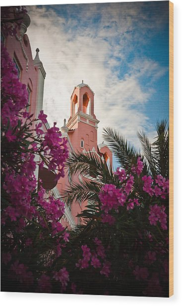 Don Cesar Wood Print by Patrick  Flynn