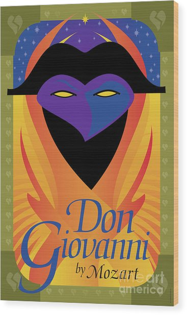 Don Giovanni Wood Print