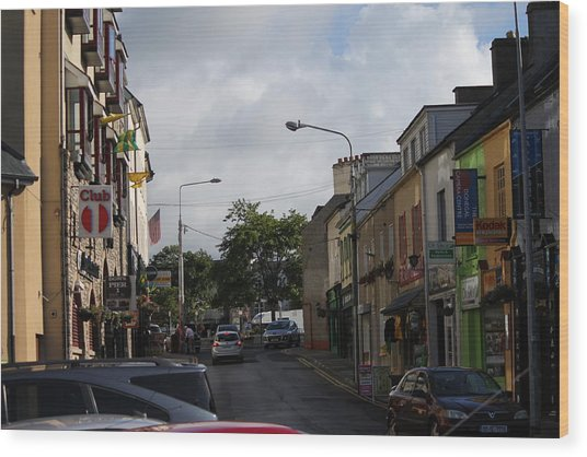 Donegal Town 4118 Wood Print