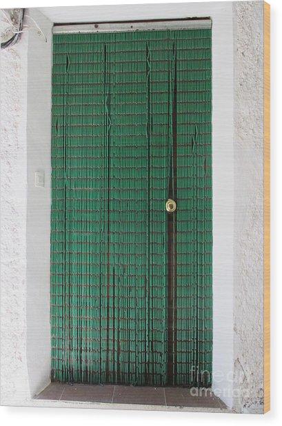 Door In Capilerilla Wood Print