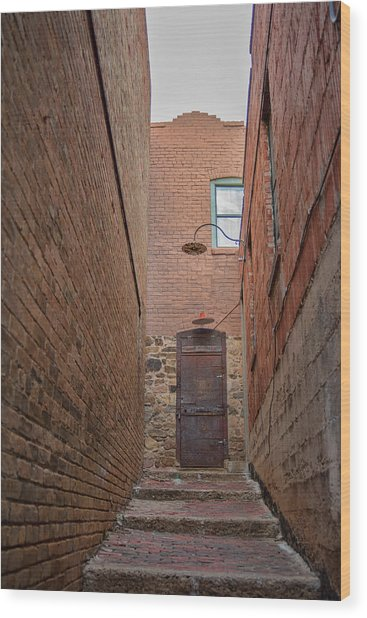 Wood Print featuring the photograph Door To 9a by Dan McManus