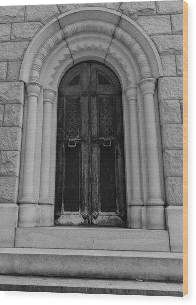 Door To Eternity Wood Print by Denise McKay