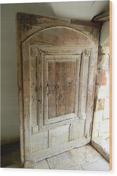 Door To Feudal Times Wood Print