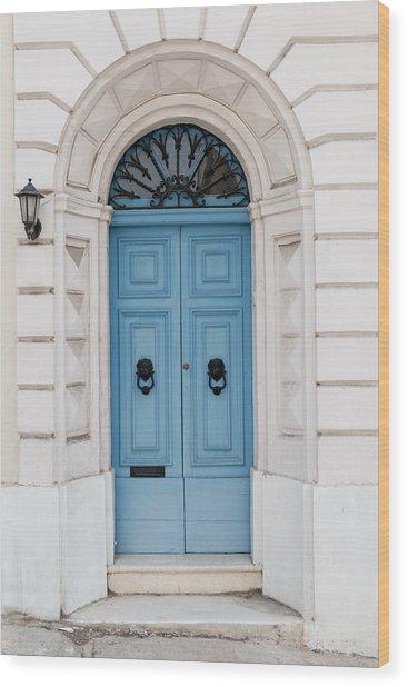 Doors Of The World 68 Wood Print