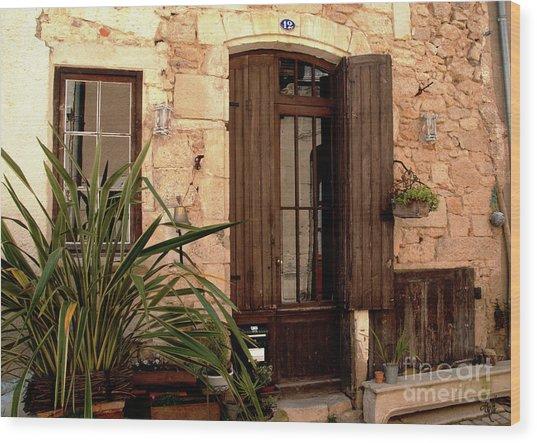 Doorway At Number 12 Wood Print
