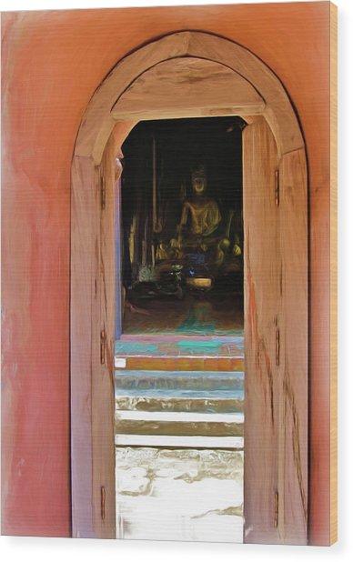 Doorway To Enlightenment Wood Print