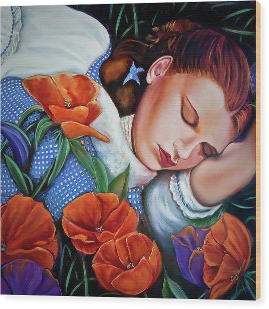 Dorothy's Sleep Wood Print