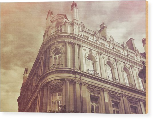 Double Decker View Wood Print by JAMART Photography