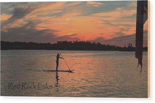 Doug Hobson, Red Rock Lake Wood Print